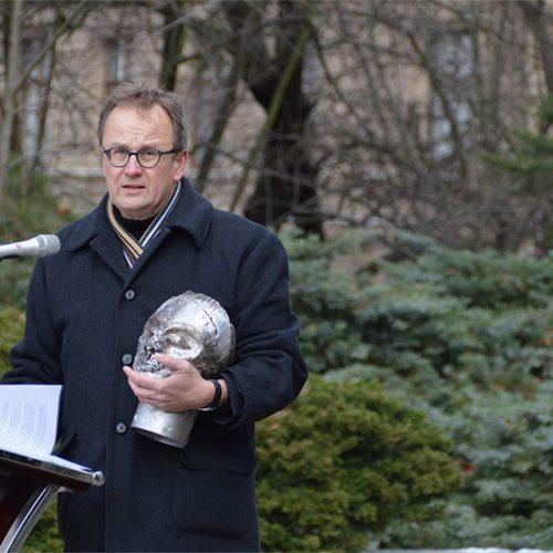 Przemówienie Franka Seibela - przewodniczącego stowarzyszeniu Meetingpoint Music Messiaen